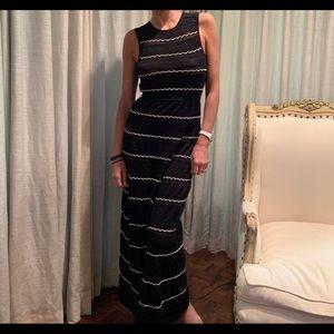 Missoni black and white maxi dress